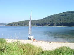 Watersports in Schluchsee in the Black Forest